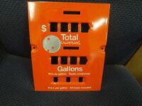 NOS Vintage Supertest Gas Pump