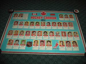 1972 Summit Series Canada poster Belleville Belleville Area image 1