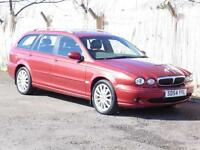 Jaguar X-TYPE 2.0D, Estate, Red, FSH, 1 Years Mot, 6 Months AA Warranty