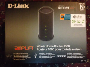 D-Link Whole Home Router 1000 (DIR-645) Wireless N300, SmartBeam