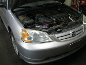 2003 Honda Civic DX Sedan: NEW ENGINE