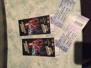CANADIAN FINALS RODEO PRIME SEATS(2)!!!!!