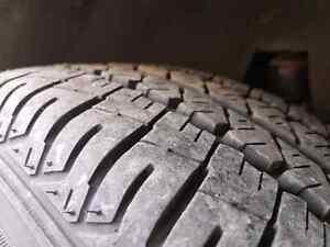 New Firestone Mud & snow FR710 Tires 205/65/R154 Lots of Tread