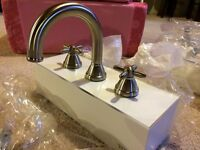 Toto brushed nickel faucet new