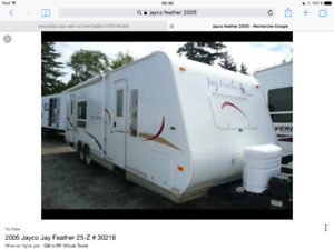 Roulotte jayco feather