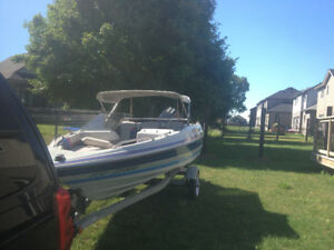 Bay liner boat and 50 hp motor. Bought new in 1989     $4500 ono