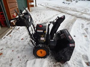 Snow Blower with electric start