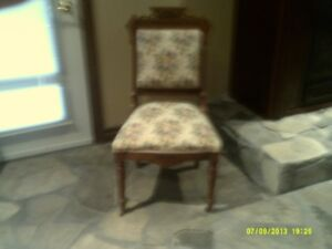 antique chair set of 7