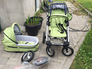 Mutsy Baby Stroller with accessories