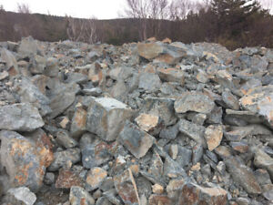 ROCK for walls, landscaping, etc.