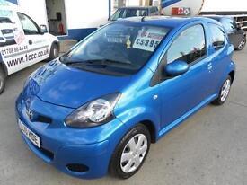Toyota Aygo Blue VVT-I 3dr Finance Available PETROL MANUAL 2010/10