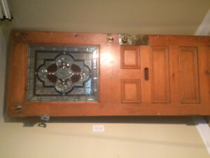 Gorgeous Vintage Quebec Pine Door
