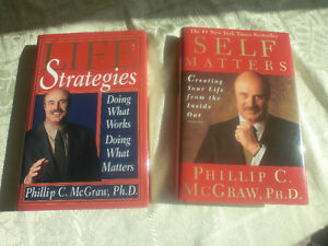 """""""LIFE STRATEGIES"""" AND """"SELF MATTERS """" DR. PHIL $5.00 for both"""