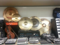 Variety of Cymbals
