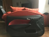 Honda Civic EP door cards facelift red