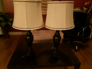 TABLE LAMPS & DRESS HANGERS FOR SALE
