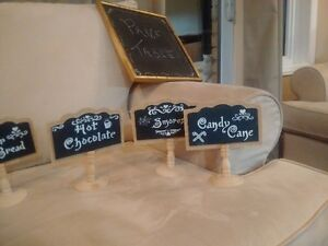 chalk signs for wedding or parties candy/ hot chocolate bars Cambridge Kitchener Area image 3
