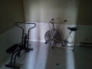 Airdyne and Health Rider for sale