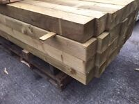 """💯New Timber Posts * 4"""" X 4"""" X 8ft"""