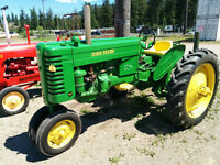 John Deere antique tractor model MT