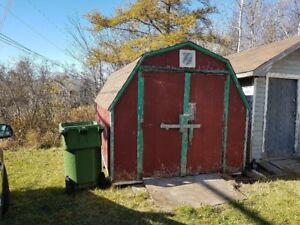 Baby Barn 8x12 shed