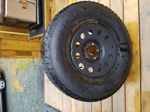 4 winter tires for jeep wrangler $200 each St. John's Newfoundland image 1