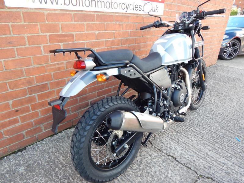 Royal Enfield Himalayan Sleet Motorcycle In Bolton Manchester