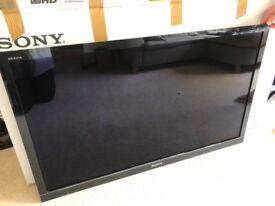 "46"" Sony Bravia HD/3D LCD TV + 2 Pairs Sony 3D Glasses"