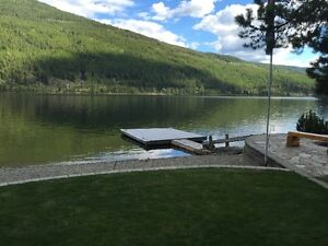 BOAT/SWIMMING DOCK  - ON MOYIE LAKE BC