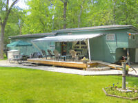 Must sell 50 foot cabin like trailer at Spruce Sands Resort