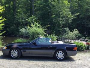 Occasion unique à ne pas manque Mercedes SL500 1995 décapotable