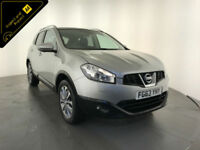 2013 63 NISSAN QASHQAI TEKNA DCI DIESEL 1 OWNER SERVICE HISTORY FINANCE PX