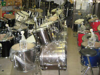 Drum, Drums and more Drums, cymbals and accessories too!