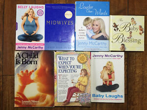 Baby books, pregnancy, expecting, midwife...