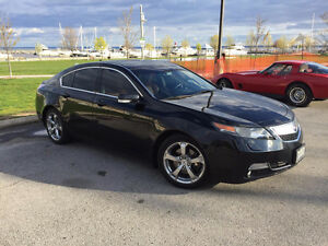 2012 Acura TL w/Tech Pkg with Acura Bumper to Bumper Warranty