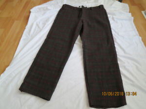 Men's 100% wool hunting pants