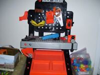 Black and decker tool table.