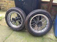 "12"" pit bike supermoto road legal wheels"