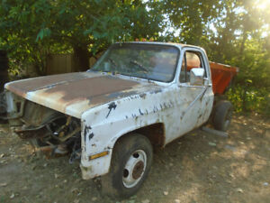 1986 Chevrolet 3500 1 ton cab chassis parts