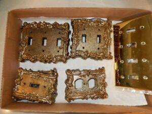 Brass Light Switch and Outlet Covers