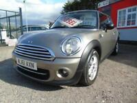 2011 Mini Hatchback 1.6 Cooper D 3dr,FSH,2 keys,12 months mot,Warranty 3 door...