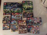 Large lot of empty Lego boxes