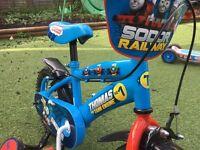 12 inch Thomas the tank engine bike