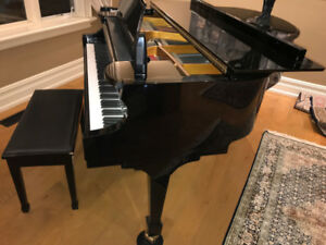 Baby Grand Samick Piano SIG 50 - Mint Condition Original Owner