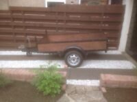 7x4 trailer fully refurbished £425.