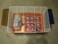 Critter Cage w) Supplies / Lg Dog Kennel / Fish Tanks (SPCA)