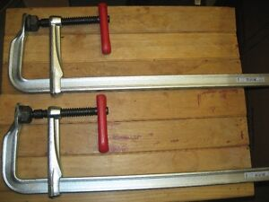 BESSEY CLAMPS - (4) - 20 INCH Prince George British Columbia image 2