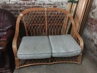 Wicker 2 seater frame