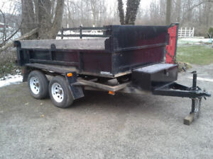 "2016 Advantage 6""x 10"" 3.5 Ton Black Dump Trailer"