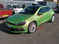 2011 Volkswagen Scirocco GT TDi 170 S-A 2.0 DAMAGED REPAIRABLE SALVAGE